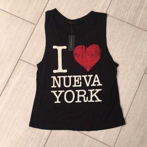 "The Classic ""I Love New York"" tank"